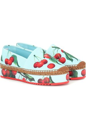 Dolce & Gabbana Exclusive to Mytheresa – cherry printed espadrilles