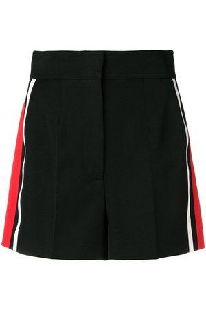 Alexander McQueen Shorts con detalle de rayas