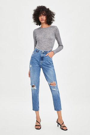 Zara Jeans mom fit authentic denim