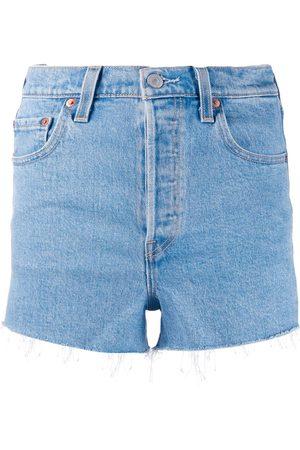 Levi's Shorts de mezclilla deshilachados