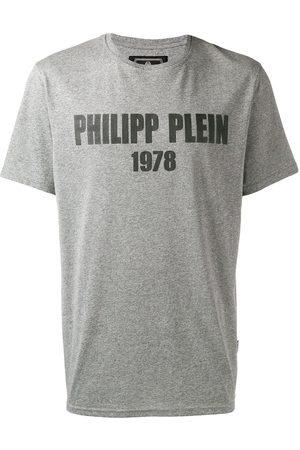 Philipp Plein Playera con logo estampado