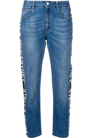 Stella McCartney Jeans con banda del logo
