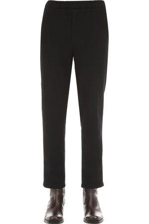 Rochas Pantalones De Lana