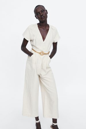 Zara Mujer Largos - Mono cruzado rústico