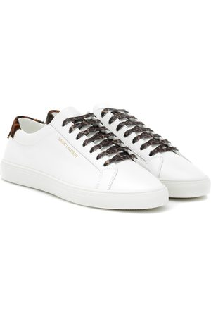 Saint Laurent Mujer Tenis - Andy leather sneakers