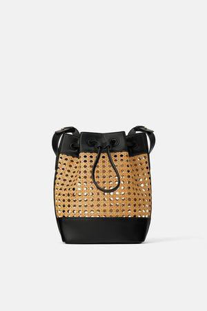 Zara Bolso saco trenzado