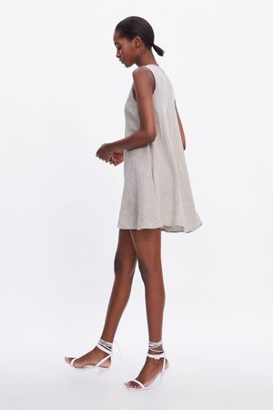 Zara Vestido lino