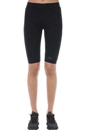 A-cold-wall* Shorts De Lycra Con Delantero Estampado