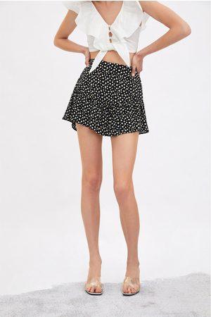 Zara Falda short estampado