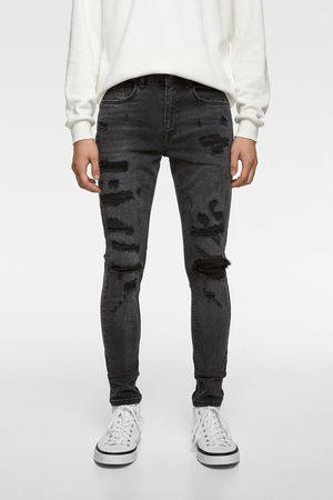 Zara Hombre Skinny - Jeans skinny rotos