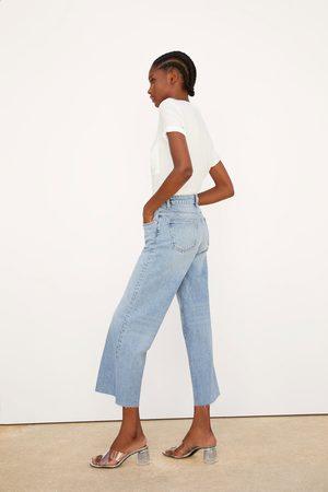 Zara Jeans denim wide leg