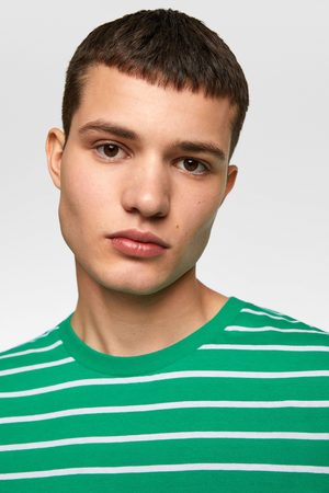 Zara Camiseta básica rayas