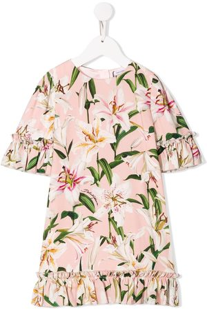 Dolce & Gabbana Kids Niña Estampados - Floral print dress