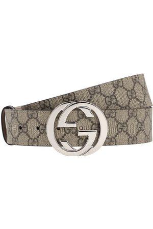 """Gucci Cinturón De Piel """"gg Supreme"""" 40mm"""
