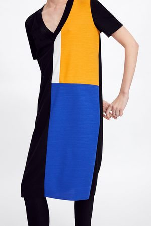 Zara Vestido saco básico