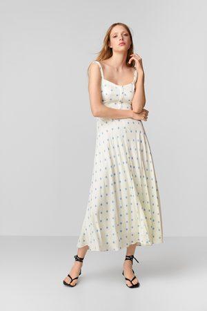 Zara Vestido lunares