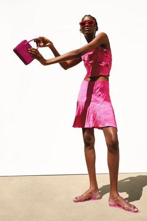 Zara Mujer Tops - Top drapeado satinado