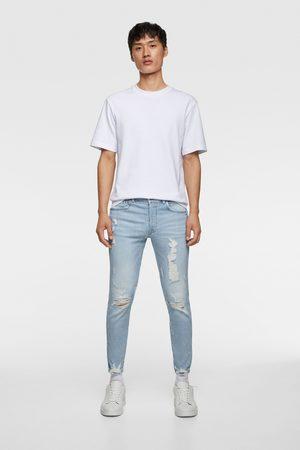 Zara Jeans skinny bajo rotos