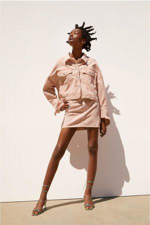 Zara Falda mini color
