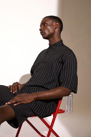 Zara Camisa fluida rayas
