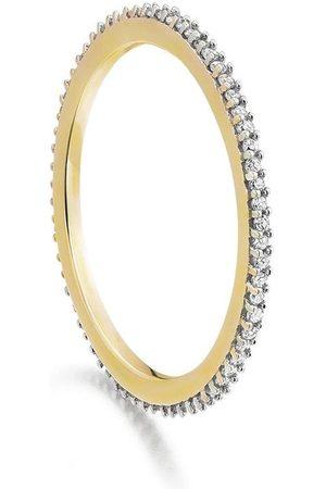 Monica Vinader Anillo GP Eternity con diamantes