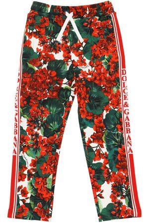 Dolce & Gabbana Pantalones Deportivos Con Estampado