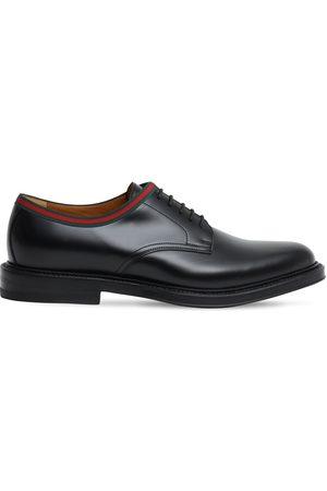 Gucci Zapatos Derby De Piel 15mm