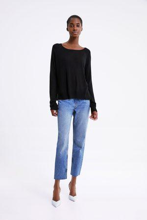 Zara Mujer Suéteres - Jersey básico