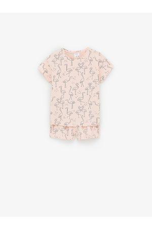 Zara Niña Pijamas - Pijama flamencos