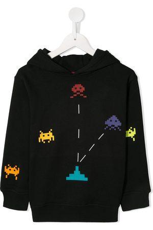MOSTLY HEARD RARELY SEEN Con capucha - Invader printed hoodie
