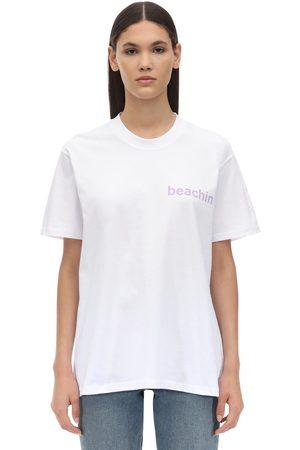Natasha Zinko Camiseta De Algodón Estampada