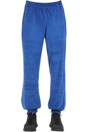 APPLECORE Hombre Pantalones - Pantalones Deportivos De Terciopelo