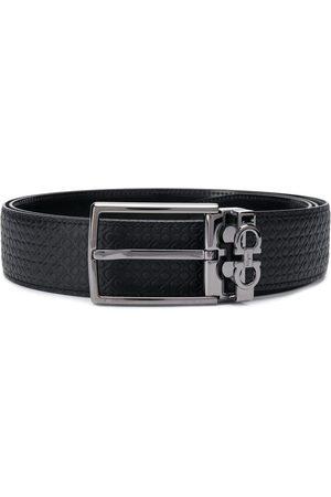 Salvatore Ferragamo Hombre Cinturones - Cinturón Gancini reversible