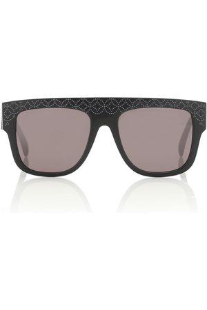 Alaïa Engraved square sunglasses