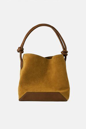 Zara Bolso saco piel soft