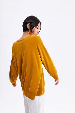 Zara Mujer Suéteres - Jersey oversize punto