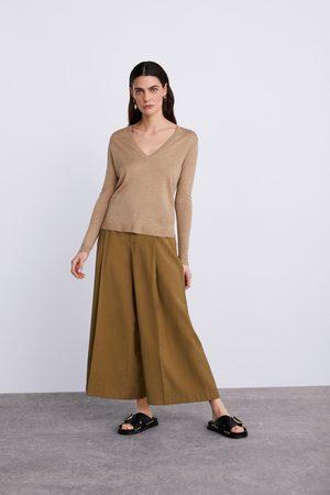 Zara Jersey punto lana merino