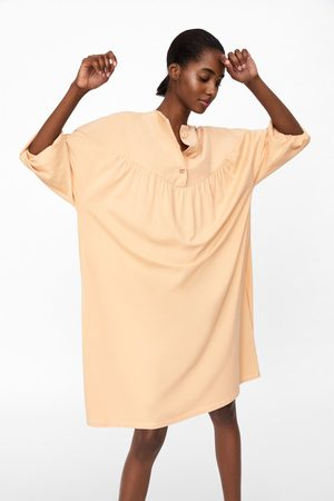 Zara Mujer Blusas - Vestido blusón botones