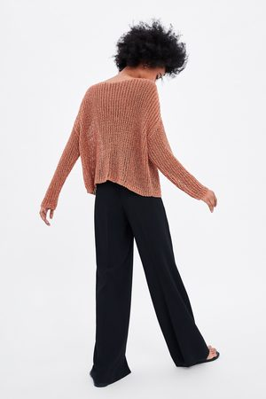 Zara Mujer Suéteres - Jersey calados