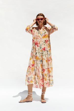 Zara Mujer Estampados - Vestido estampado floral