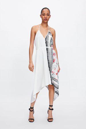 Zara Mujer Asimétricos - Vestido asimétrico combinado
