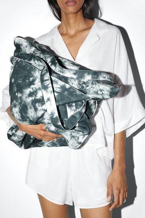 Zara Bolso saco tejido tie dye