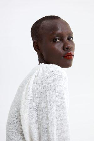 Zara Mujer Tops - Top cropped punto