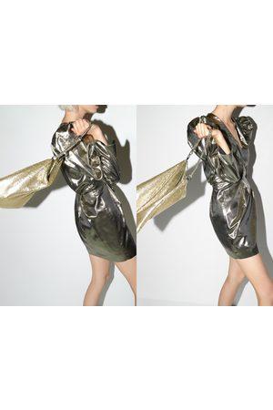 Zara Mujer Bolsas crossbody - Bandolera malla metálica