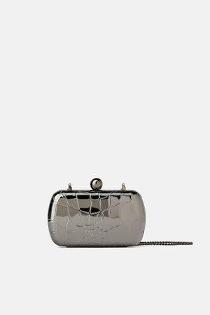 Zara Mujer Bolsas de mano - Bolso de mano grabado metálico