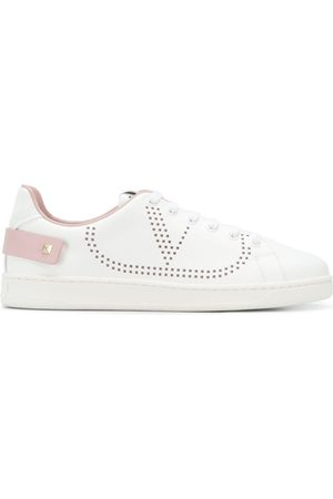 Valentino Perforated logo sneakers