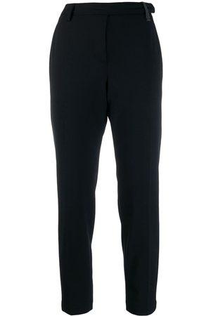 Brunello Cucinelli Pantalones de traje estilo capri