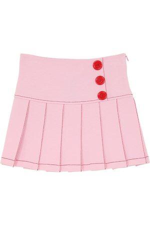 VIVETTA Mujer Plisadas - Viscose Blend Milano Jersey Skirt