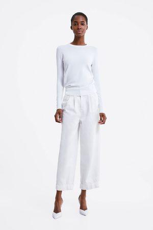 Zara Jersey básico botones