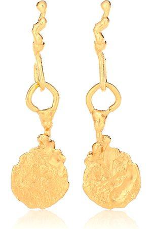 Alighieri Talisman 24kt -plated earrings